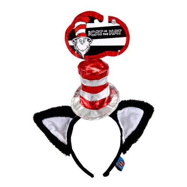 /the-cat-in-the-hat-headband-with-ears-metallic-dr-seuss/