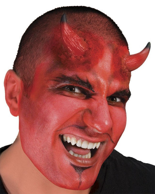 /devil-horns-large-red-with-black-tips-woochie-latex-appliance/