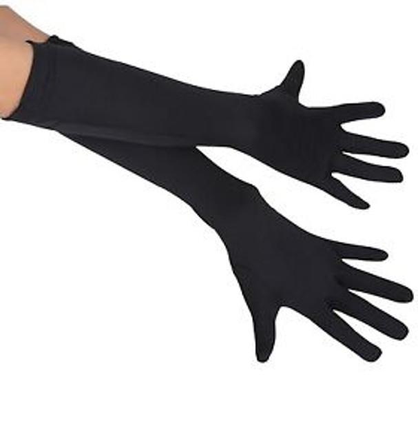 /childs-black-15-long-stretch-gloves/