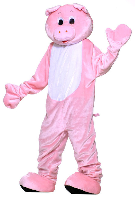 /deluxe-plush-pink-pig-mascot/