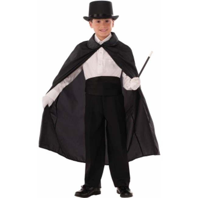 /magician-cape-36-black-with-collar-child-size/