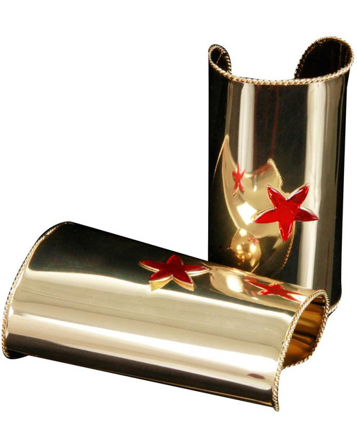 /5-gold-cuffs-with-red-stars-metal/
