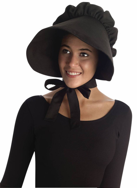/black-bonnet-colonial-hat/