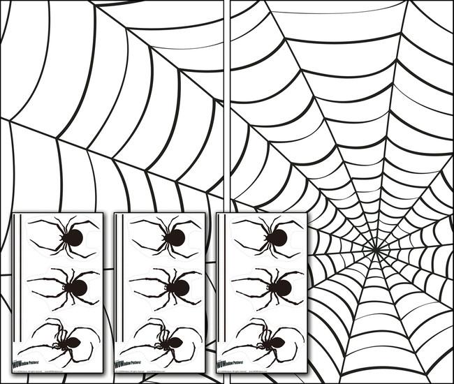 /spiders-webs-window-posters-wowindows/