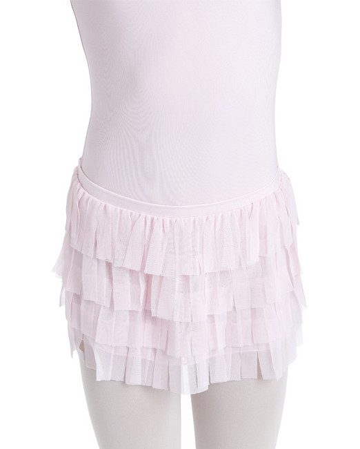 Baylee fringed girls skirt by capezio. Comes in Lavender, black, and pink!