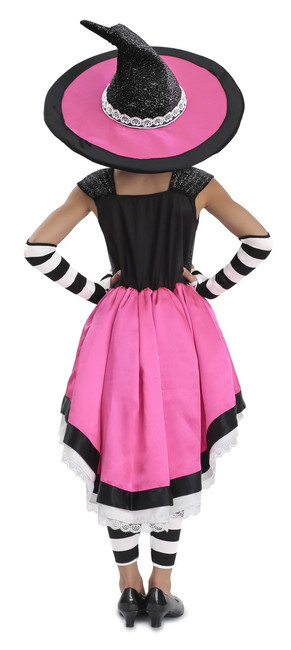 Luna the Witch girls Dress, Hat, Arm Warmers & Leggings