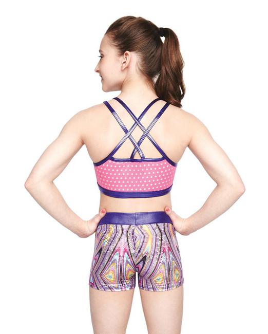 Eagle grip Gymnastics bra top