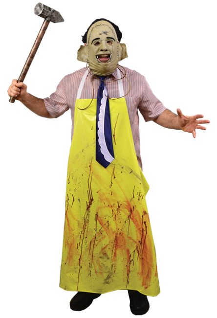 The Texas Chainsaw Massacre Leatherface costume adult (NO MASK)