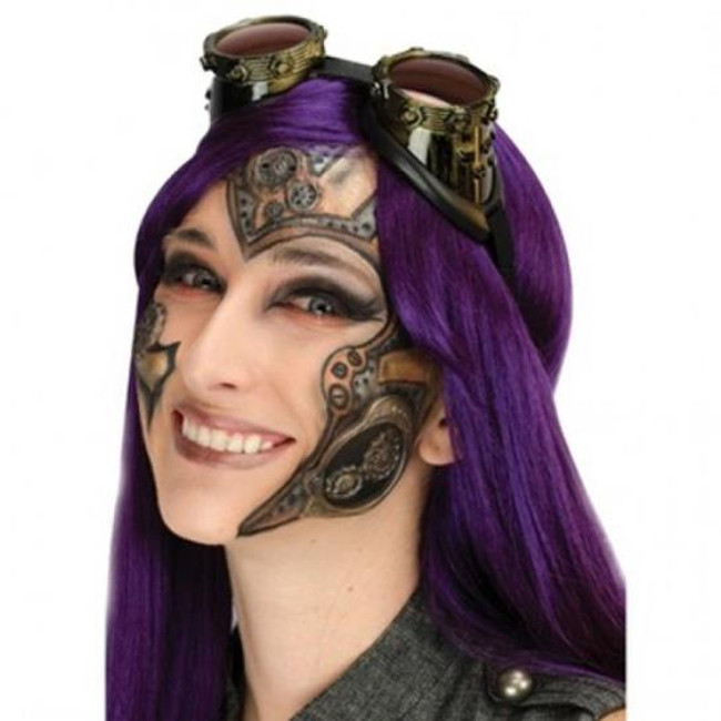 Latex appliance character steampunk