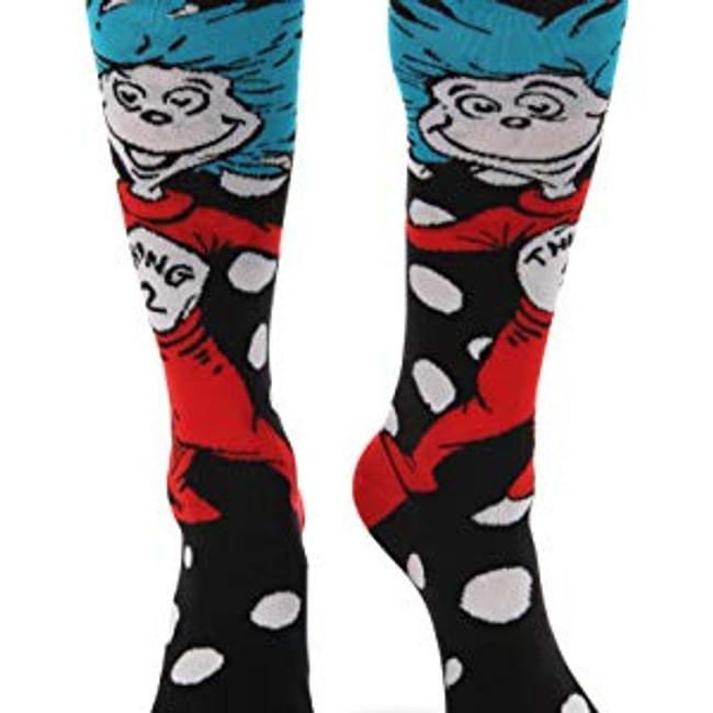 Thing 1 & 2 knee high socks