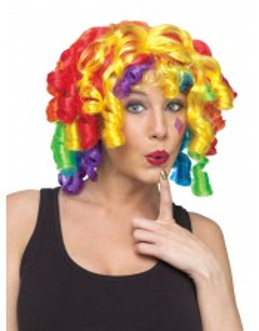 Crazy curl wig