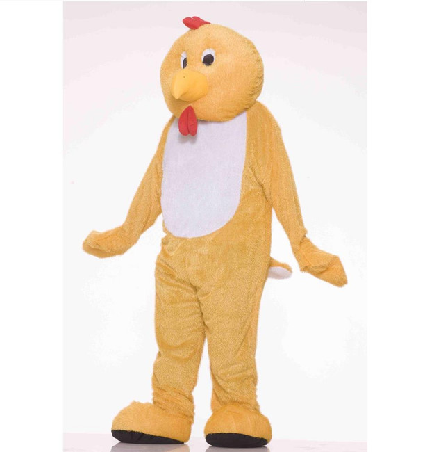 Chicken mascot deluxe plush fur