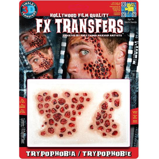 FX Transfers latex free large trpypophobe self adhesive