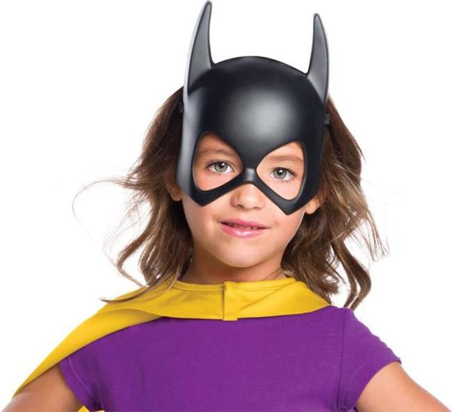 Batgirl kids half mask