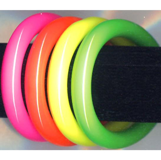 Tubular Bangle Bracelets assorted neon colors