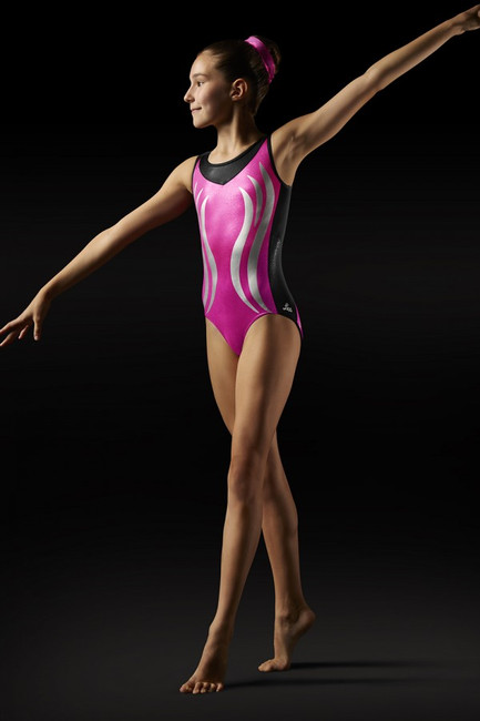 Gymnastics Flame Tank Leotard by Leos by Bloch