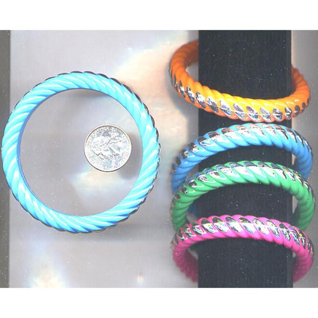 Braided twist bracelets