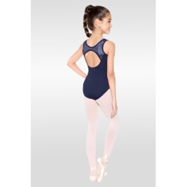 SoDanca childs tank leotard with lace inserts