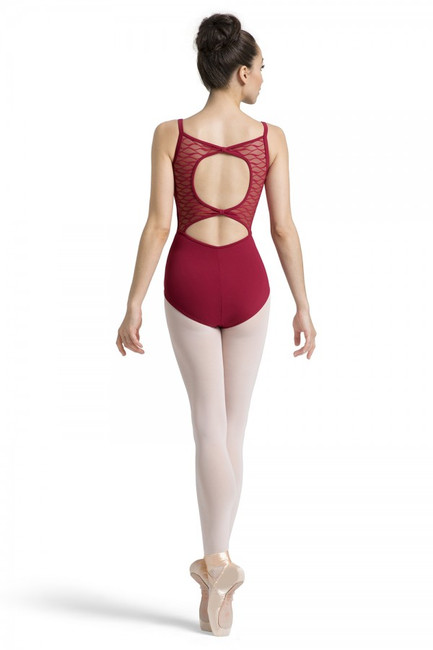 Bloch bow back camisole leotard