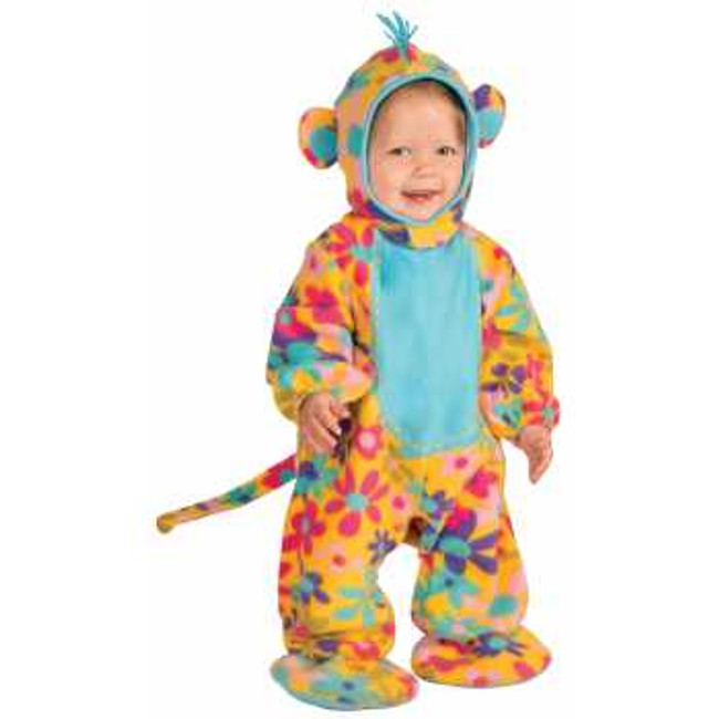 PARTY ANIMALS FUNKY MONKEY  Item #72773 HEADPIECE, JUMPSUIT