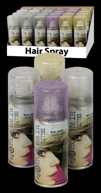 Glitter Hair Spray 2oz