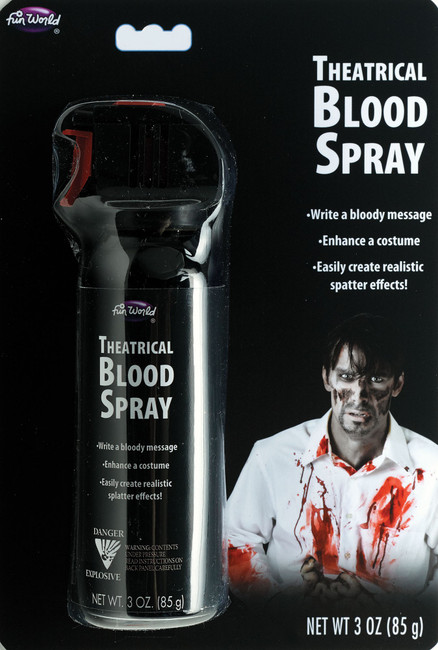 3 oz. Blood Writer with Trigger Write Bloody Words, Create Bullet Holes and Other Effects!