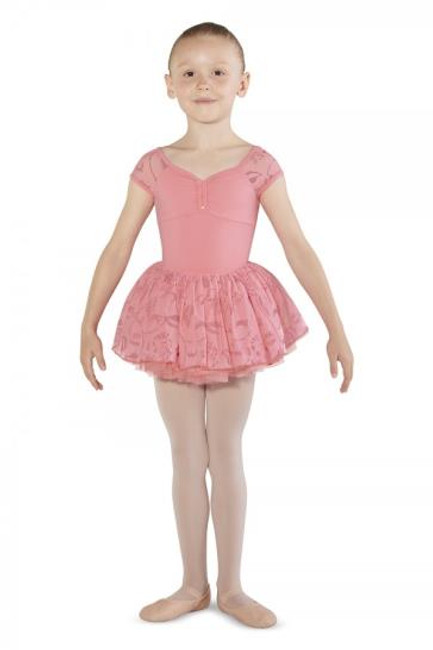 Your tiny dancer will sparkle in this glitter print mesh tutu skirt. Instantly transform any leotard into the most stunning ballet costume with graduating layers of soft tulle for a voluminous and traditional 'tutu look'. Designed on an elasticated waistband, your little one will be able to pull the skirt on and off with ease. The top layer of this tutu skirt is a soft glitter print mesh.  Features  Elasticated waistband Pull on styling Glitter print mesh top layer Three layers of graduating soft tulle Leotard sold separately Notes  Machine wash cold, lay flat to dry.