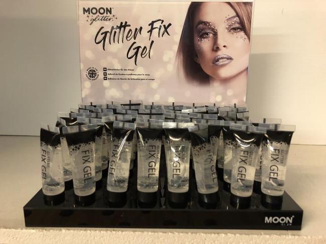 Moon Glitter--Glitter fix gel 10ml / .34 fl oz.