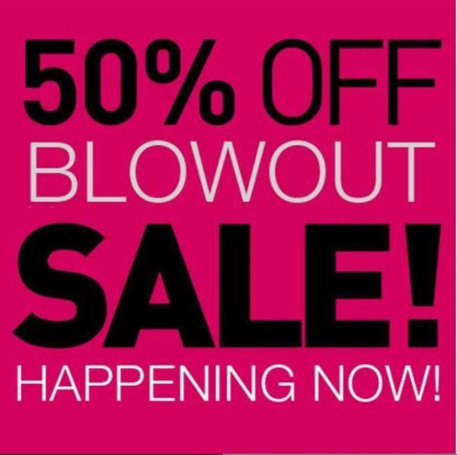 50% off Blowout Sale
