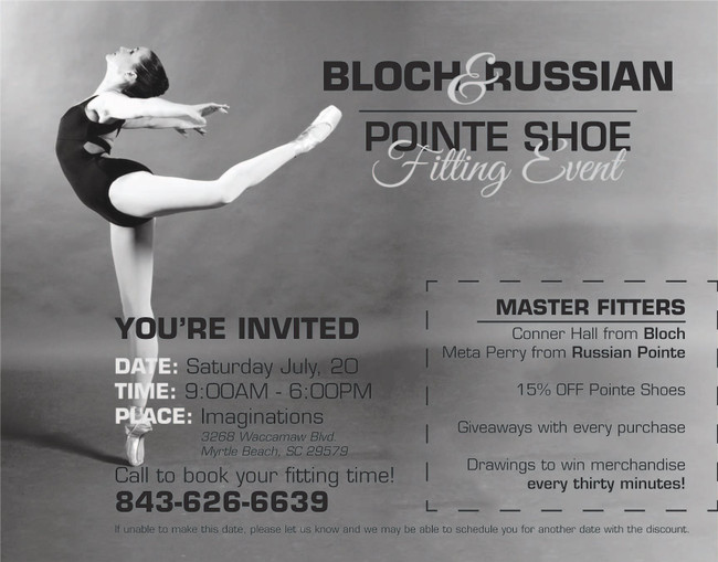 Pointe Shoe Event