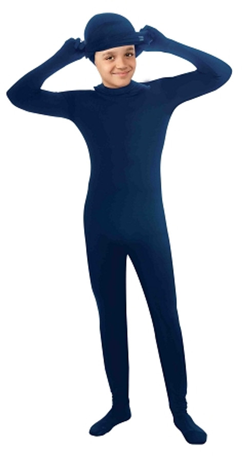 I'm Invisible Morph for Kids Full Body Suit in Solid Colors