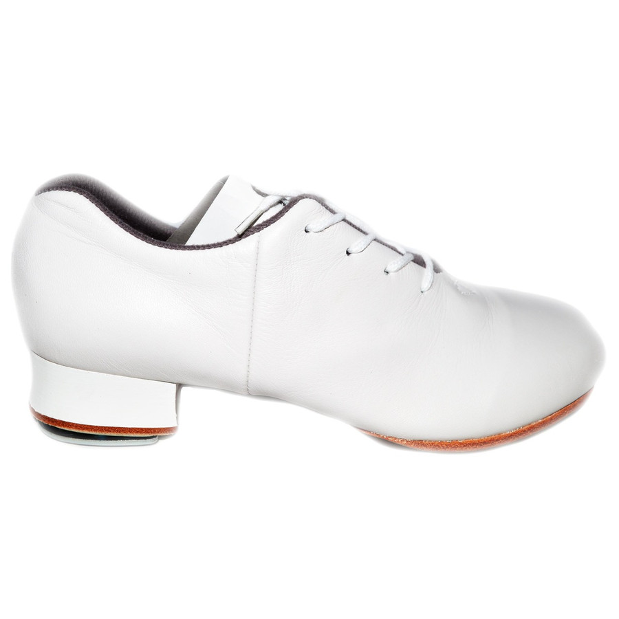Bloch Women's White Tap Flex w/ Stevens Stompers Clogging Taps