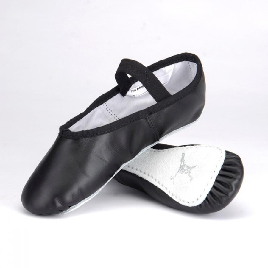 Capezio Daisy Full Sole Ballet Shoe - Black