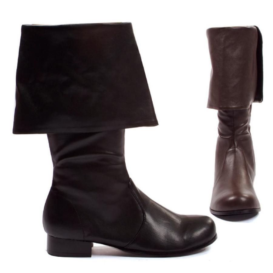 """Hook Men's Pirate Boots 1"""" Heel"""