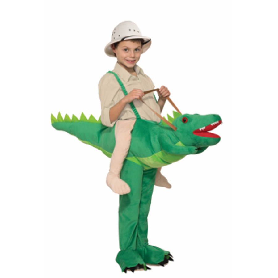 Ride-A-Gator Kids Costume Ride-on top