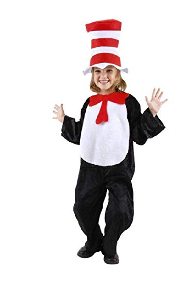The Cat in the Hat Costume Kids 4-6