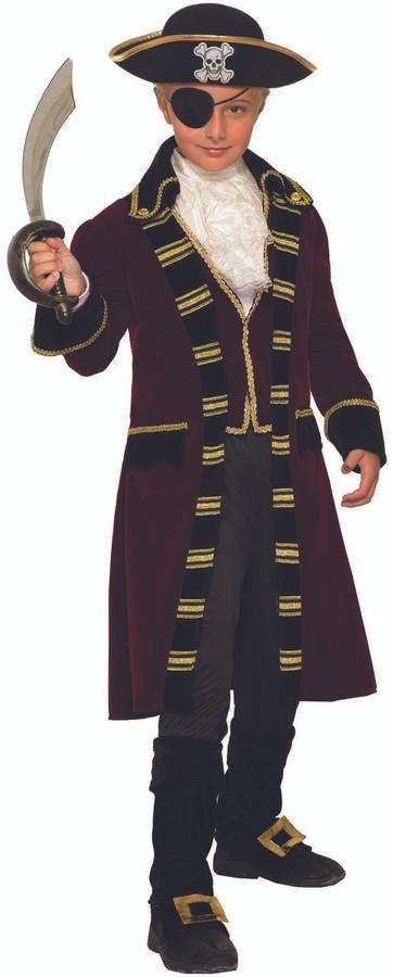 Buccaneer Captain Kids Costume