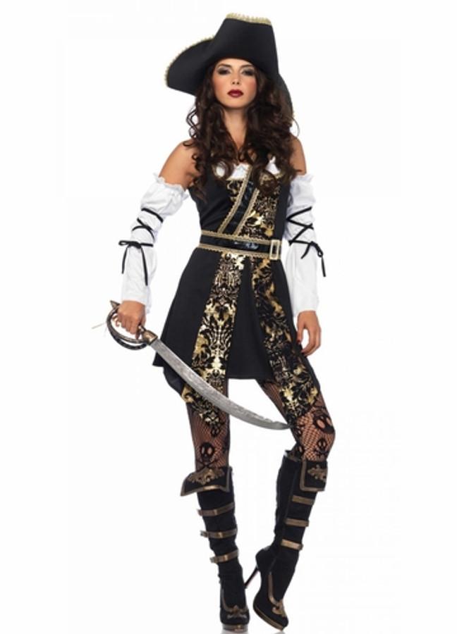 Leg Avenue Black Sea Buccaneer Ladies Pirate Costume