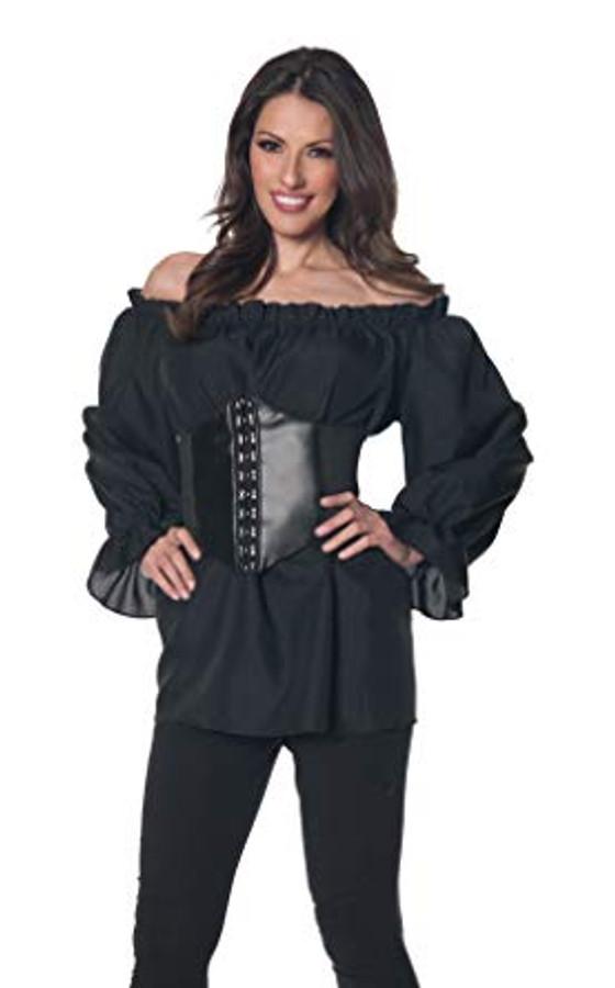 Renaissance Long Sleeve Blouse Black