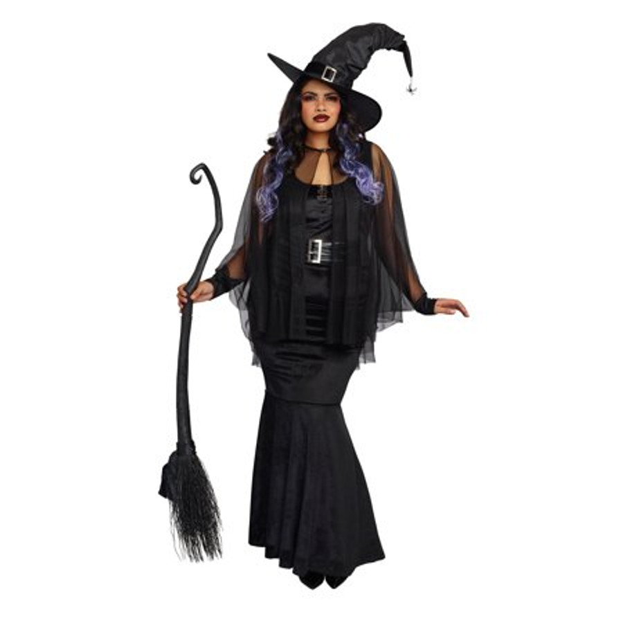 Beautiful Bewitching Beauty Womens Plus Size Witch Costume