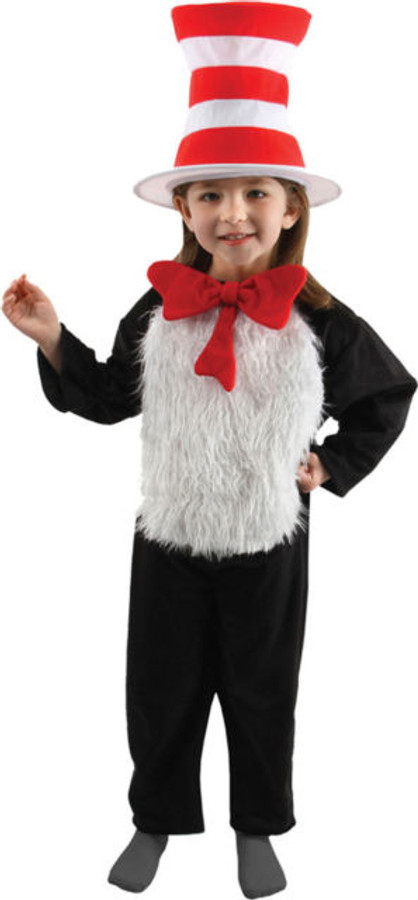 The Cat in The Hat Deluxe Kids Costume