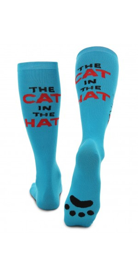 The Cat in the Hat Paws Knee High Socks (430102)