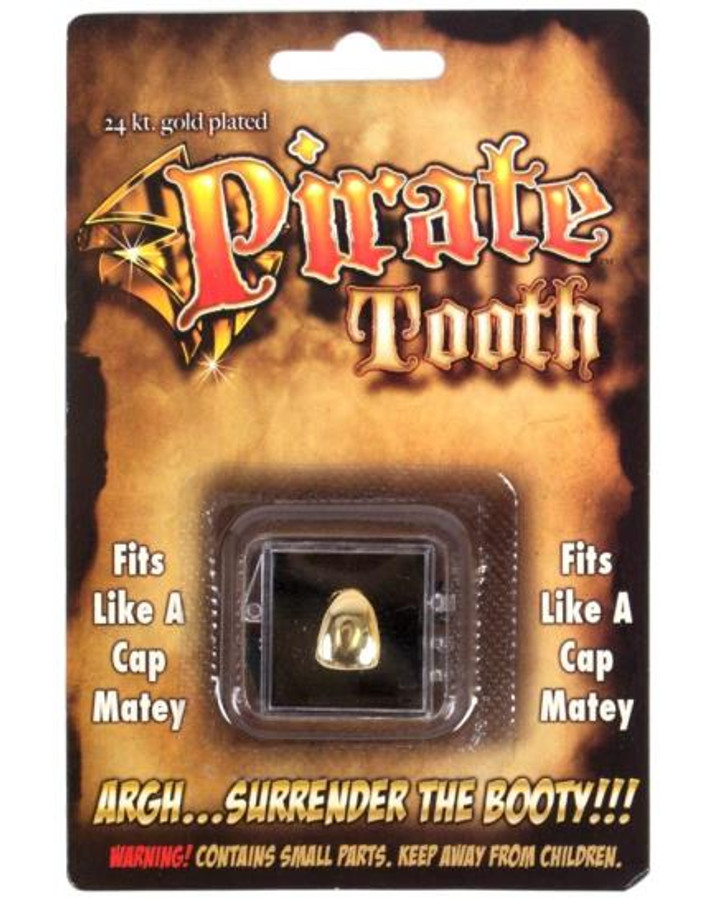 Pirate Tooth Gold Billy Bob