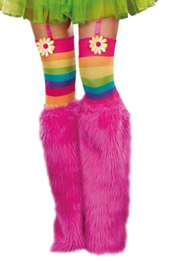 Pink Fur Boot covers