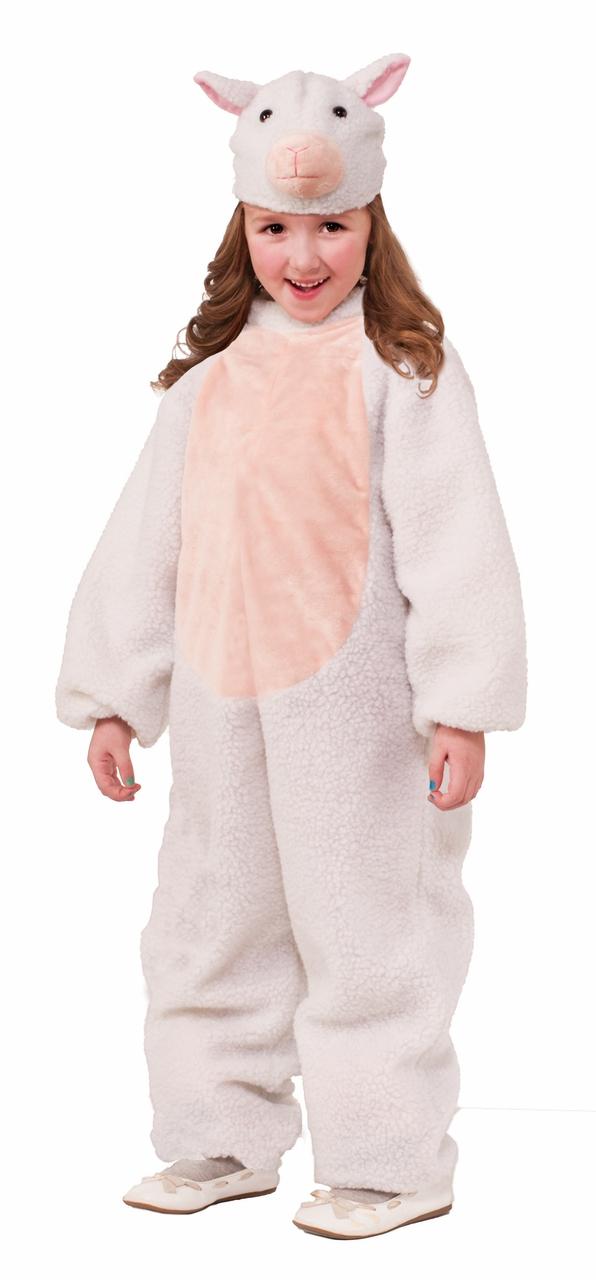 Sheep Kids Jumpsuit Costume