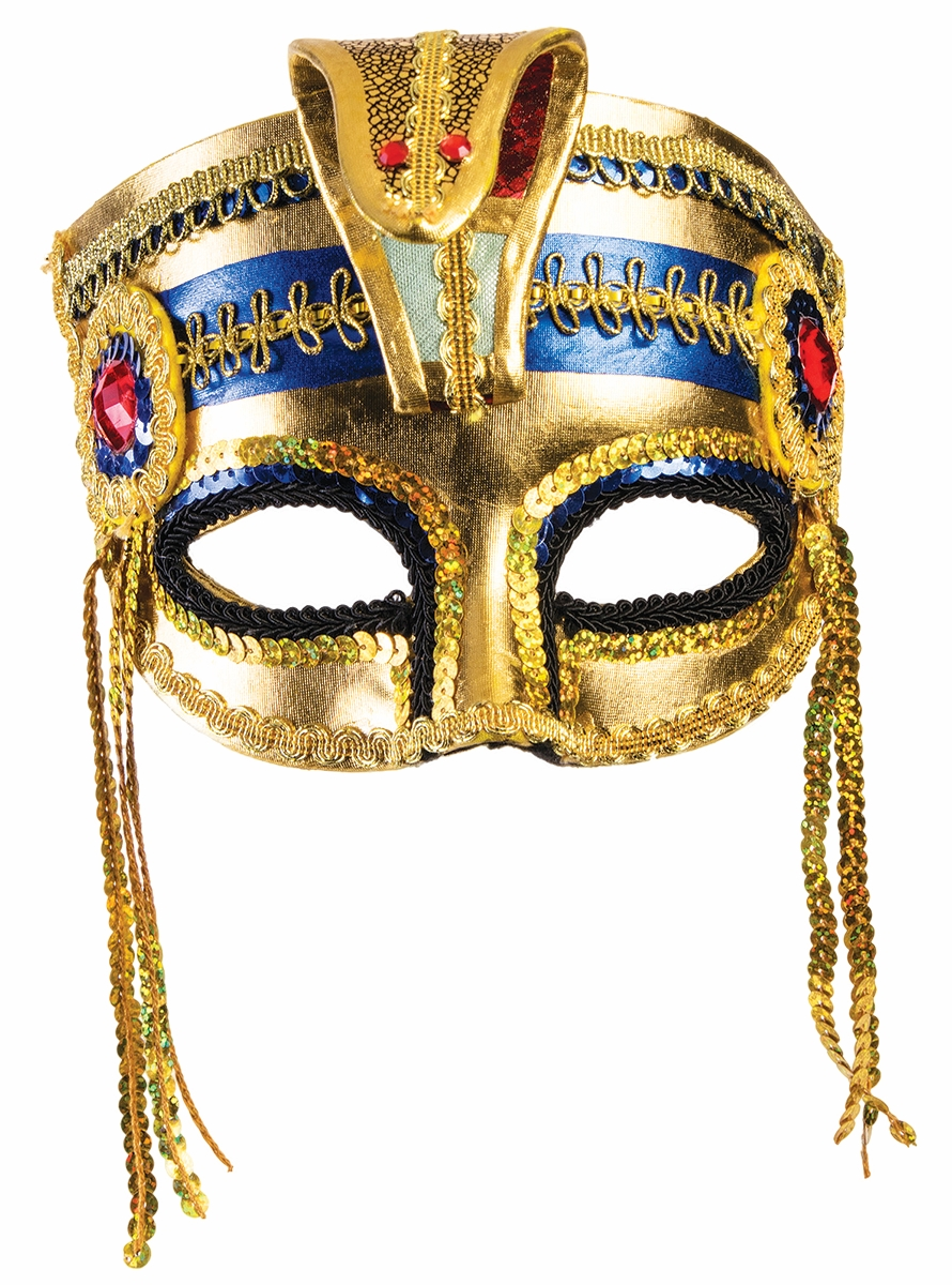 Venetian Masquerade Mardi Gras Eye Half Mask Glasses White Sequin Accessory
