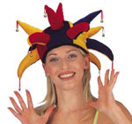cb4d02a6599 Jester Hat Rainbow Colors w  Bells - Imaginations Costume   Dance