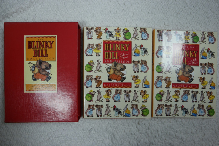 """""""THE BLINKY BILL COLLECTION"""" books front covers"""