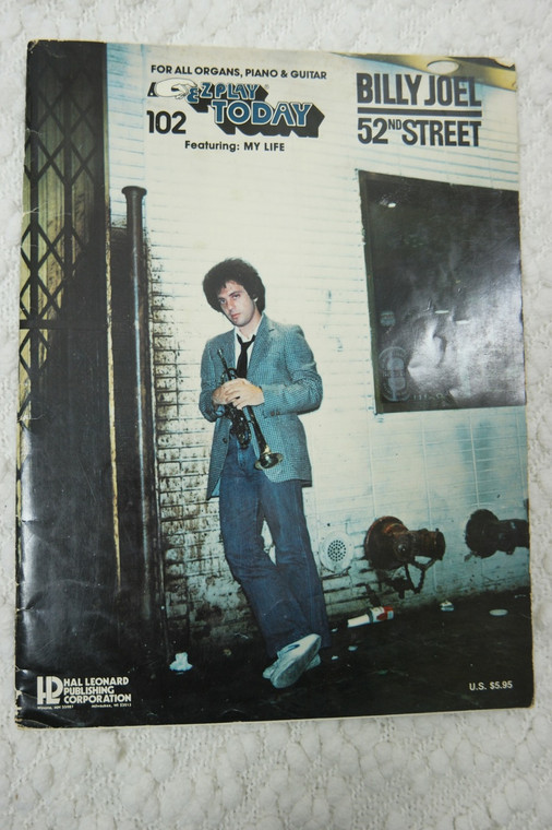 BILLY JOEL 52ND STREET EZPLAY TODAY book front view