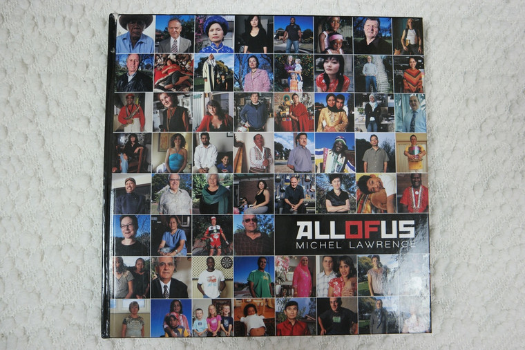 All Of Us by Michel Lawrence hardcover photography book 2008 signed VGUC front view